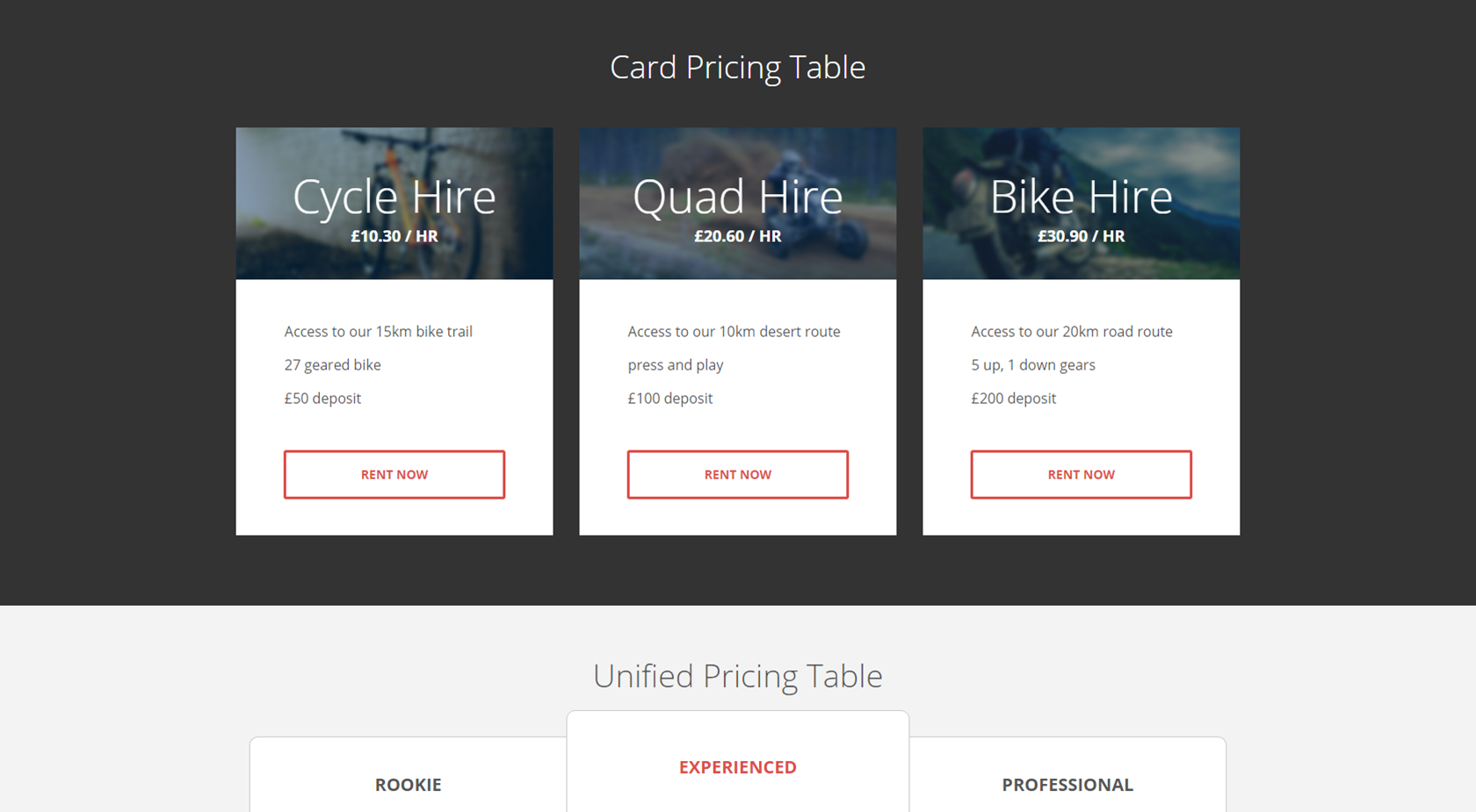 7 responsive flat bootstrap pricing tables  now with color