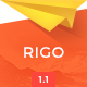 Rigo - Responsive Email Newsletter Template - ThemeForest Item for Sale