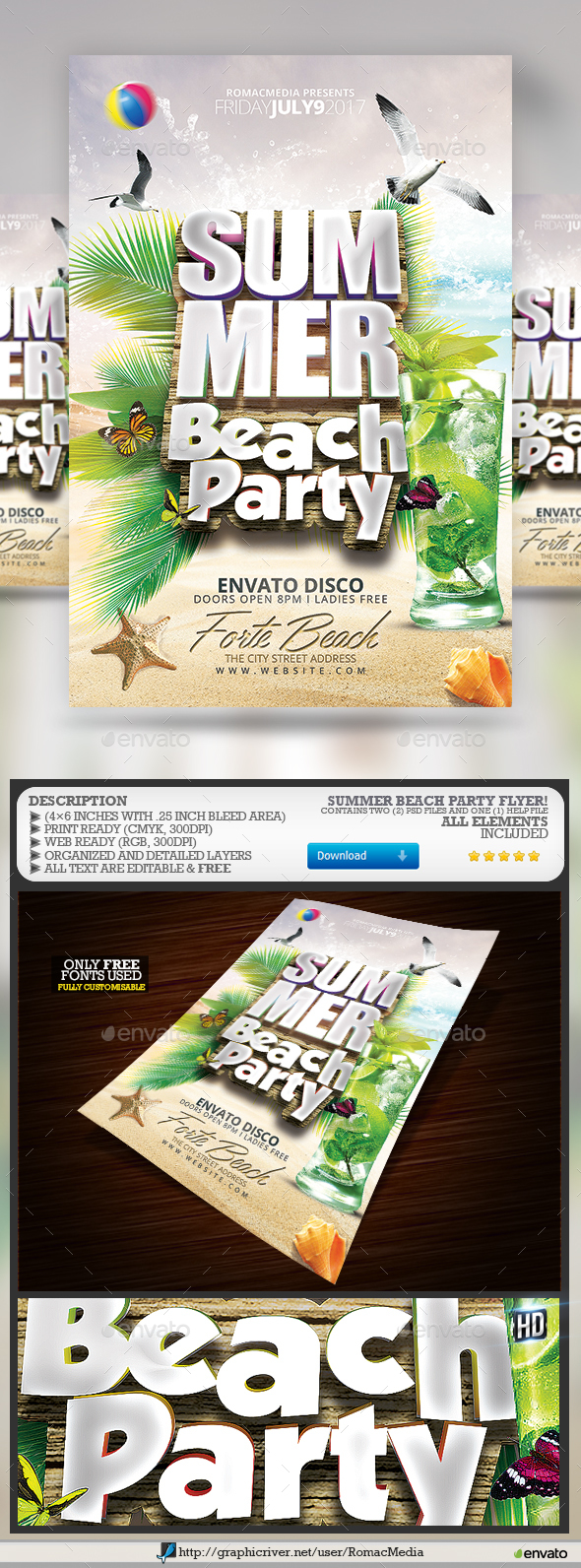 Beach Party - Clubs & Parties Events