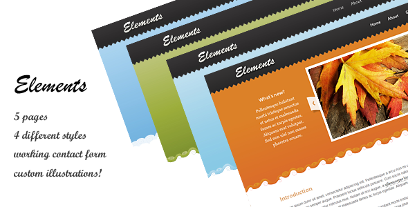 Free Download Elements Site Template Nulled Latest Version