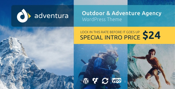 Adventura – Outdoor & Adventure Agency WordPress Theme
