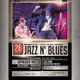 Jazz Blues Flyer / Poster - GraphicRiver Item for Sale