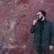 Bearded Man Smokes Electronic Cigarette - VideoHive Item for Sale