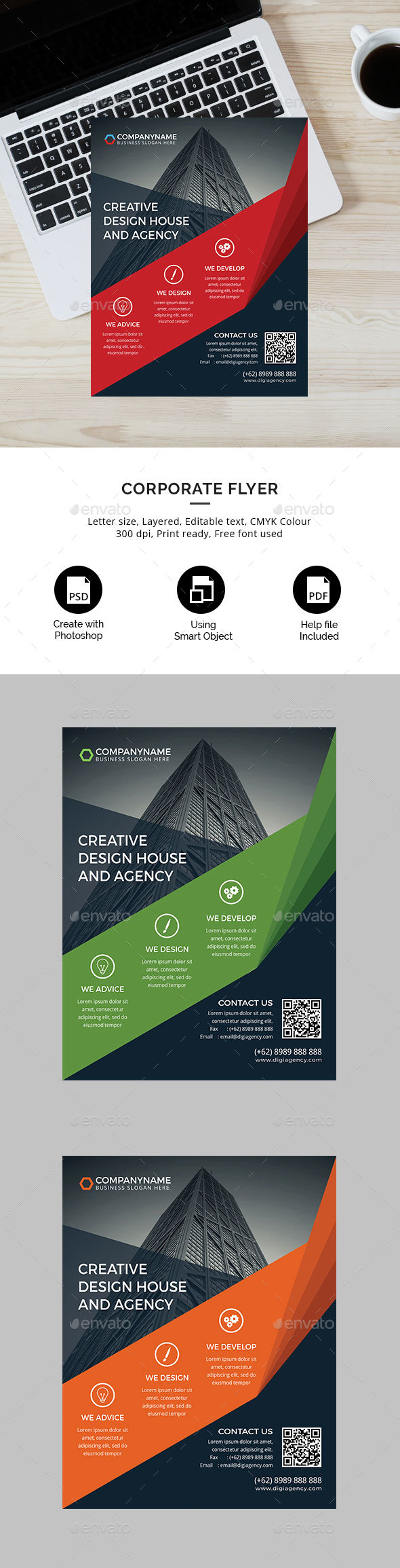Digital Agency Flyer - Corporate Flyers