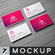 Standard US Business Card Mockup - GraphicRiver Item for Sale