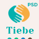 Tiebe Charity Non-profit  PSD Template. - ThemeForest Item for Sale