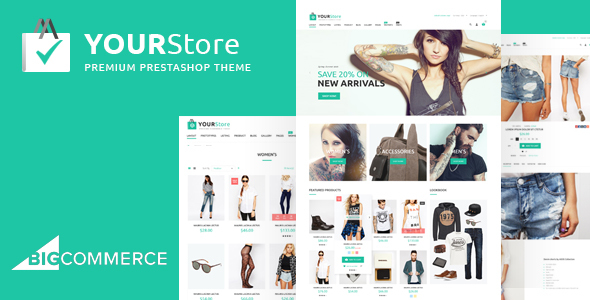 Download YourStore - BigCommerce theme nulled version