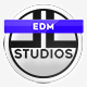 Modern EDM Dubstep Logo