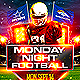 Monday Night Football Sports Flyer - GraphicRiver Item for Sale