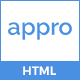 Appro – Multipurpose Landing Page Template Nulled