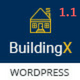 BuildingX - Builder, Contractor, Contruction WordPress Theme Nulled