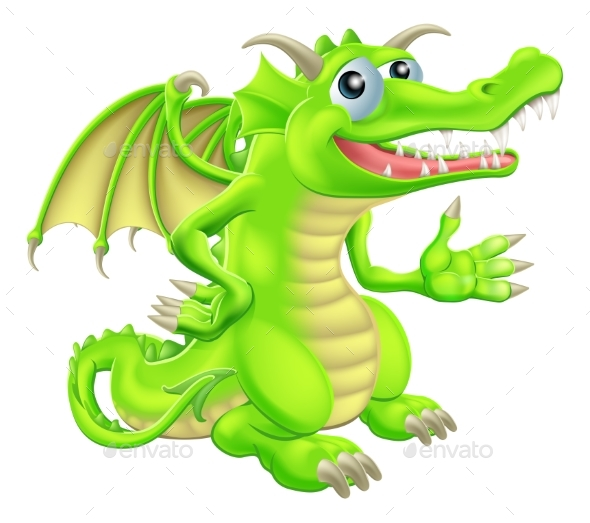 Cartoon Dragon - Animals Characters