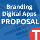 Branding Digital Apps Proposal - GraphicRiver Item for Sale