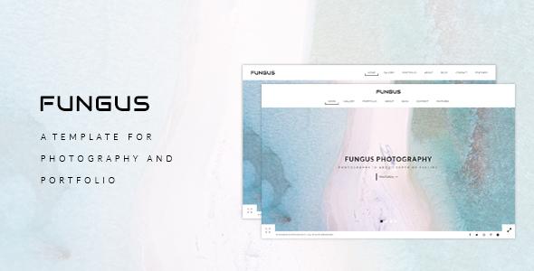 Fungus – Photography / Portfolio HTML Template