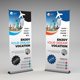 Travel Agency Roll-up Banner