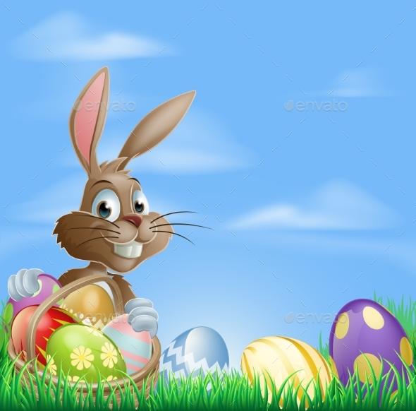 Easter Background Scene - Landscapes Nature