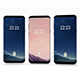 Samsung Galaxy s8 (3 colors) - 3DOcean Item for Sale