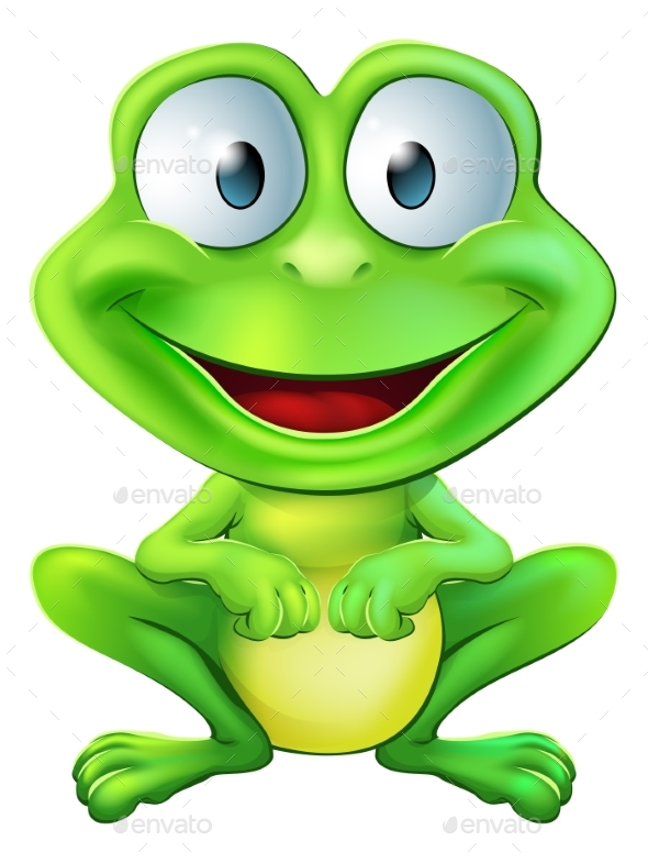 Frog Character - Animals Characters
