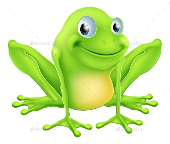Cartoon Frog Character - Animals Characters