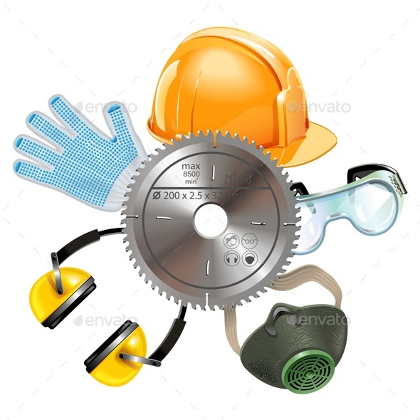 Vector Saw Protective Equipment - Industries Business