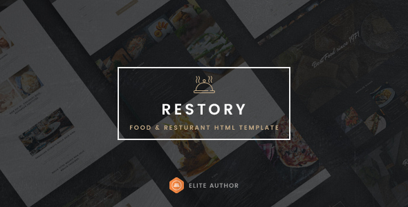 Restory – Restaurant & Cafe HTML5 Template