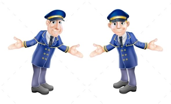 Doormen or Bellhops - People Characters