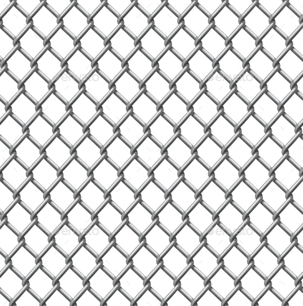Wire Fence Seamless Tile by Krisdog | GraphicRiver