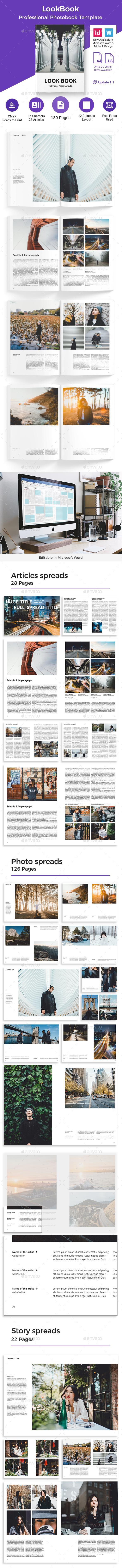 Look Book Multipurpose Template - Magazines Print Templates