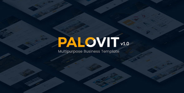 Construction Corporate Psd Template - Palovit - Corporate PSD Templates