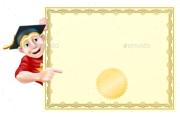 Graduate and Certificate - Miscellaneous Vectors