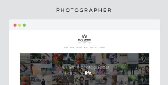 16+ WordPress Gallery Themes 2019 1
