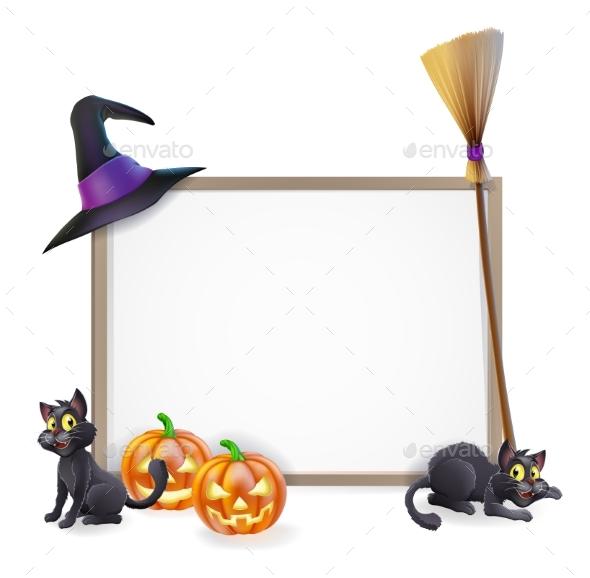 Halloween Sign - Miscellaneous Vectors