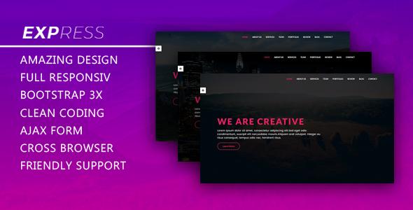 Express – Responsive Creative Template