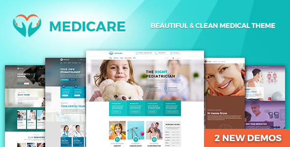 25+ Best Dental Care and Dentist WordPress Themes 2019 24