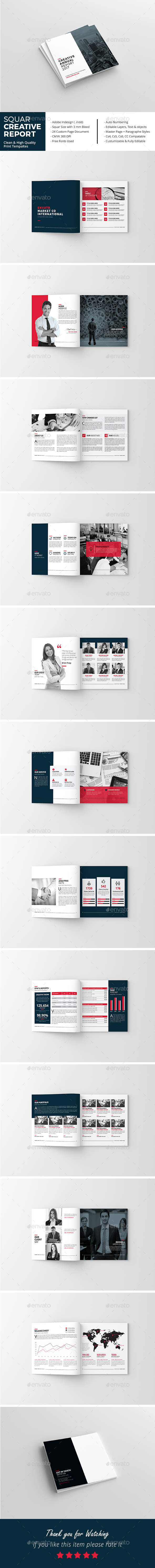 Squar Creative Annual Report - Corporate Brochures