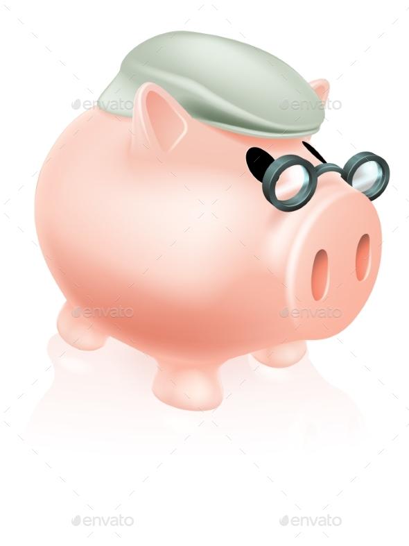 Pension Pig Money Box - Concepts Business