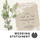 Wedding Invitation Stationery - GraphicRiver Item for Sale
