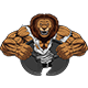 Angry Strong Lion - GraphicRiver Item for Sale