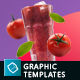 Organic Juice - 10 Premium Hero Image Templates - GraphicRiver Item for Sale