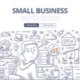 Small Business Doodle Concept - GraphicRiver Item for Sale