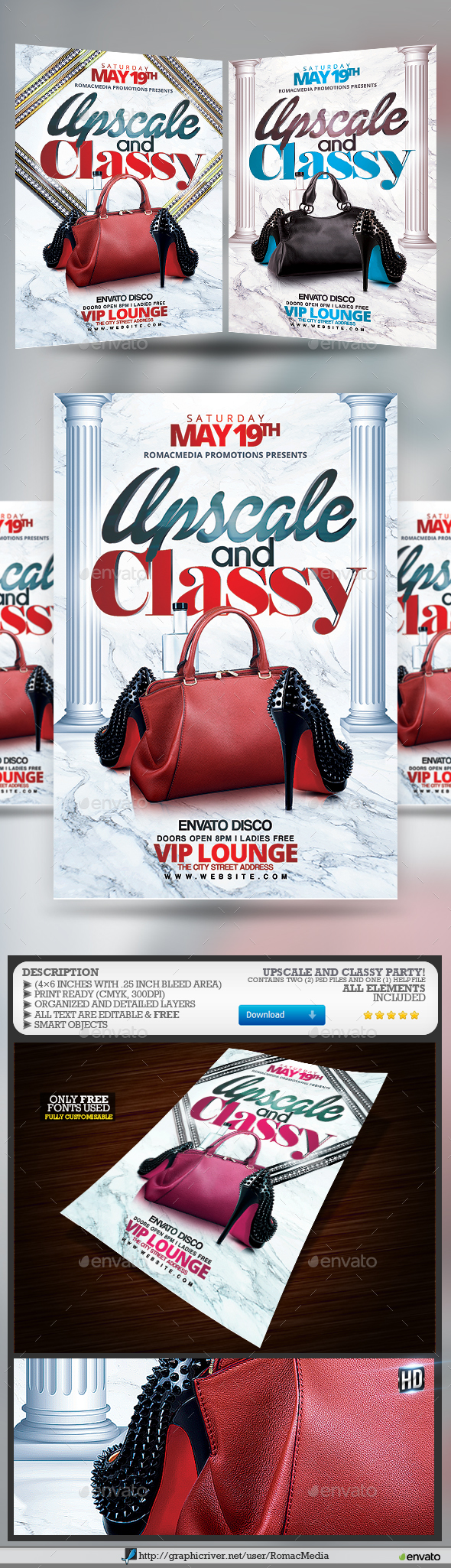 Upscale and Classy Party - Clubs & Parties Events