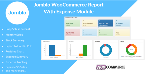 Jomblo WooCommerce Reporting with Expenses Module - CodeCanyon Item for Sale