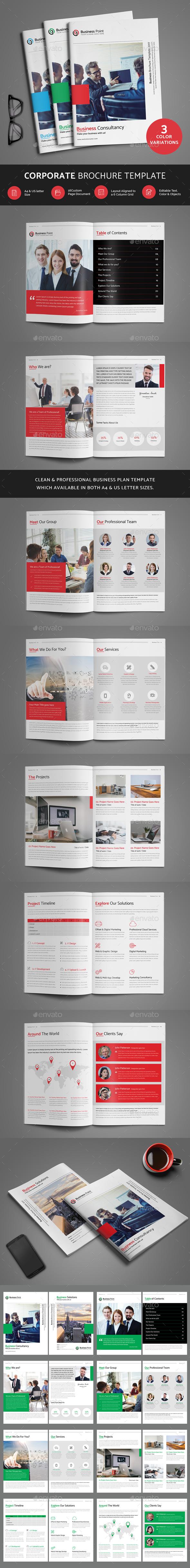 Corporate Brochure - Print Templates