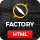 Factory Plus - Industry / Factory / Engineering and Construction Business HTML Template - ThemeForest Item for Sale