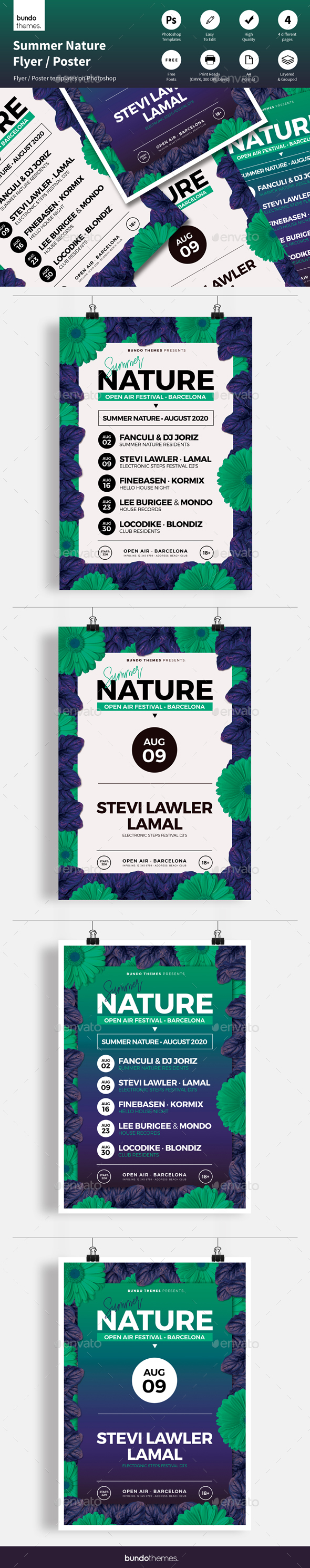 Summer Nature Flyer