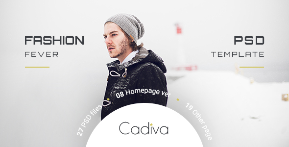 Cadiva Shop – Multi Concept PSD Templates