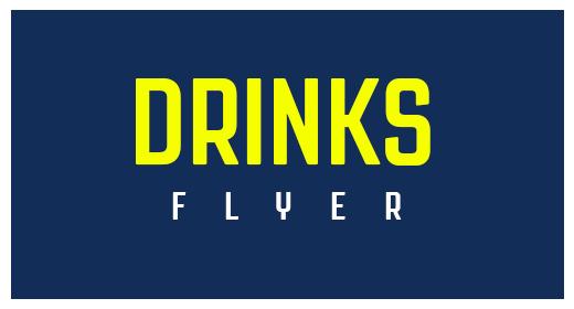 Drinks FLyer