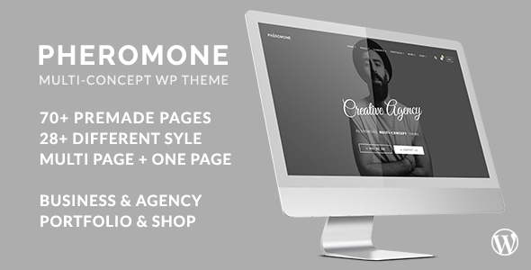 Pheromone – Creative Multi-Concept WordPress Theme