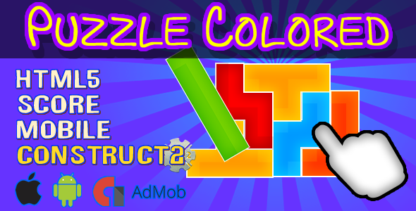 Puzzle Colored - html5 + Admob (CAPX included) - CodeCanyon Item for Sale