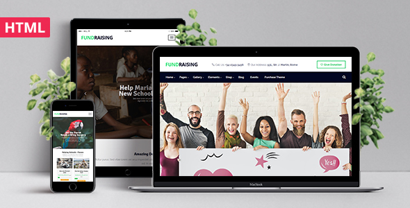 Fundraising – Ultimate Charity/Donations HTML Template